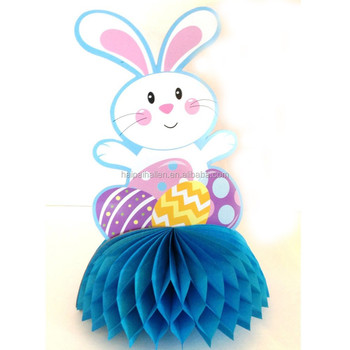 Promotional gifts easter rabbit paper honeycomb for hanging promotional gifts easter rabbit paper honeycomb for hanging decorations negle Gallery