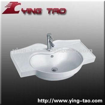 Wall Hung Mounting Faucet Type Small Hand Washing Sink Water Hand ...