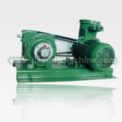 V-Belt Drive vane pump oil tank truck