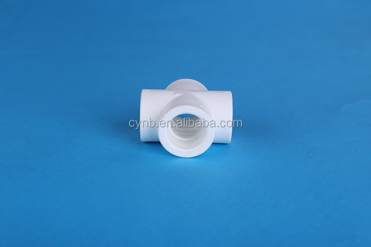 ppr pipe fitting dimensions cross tee