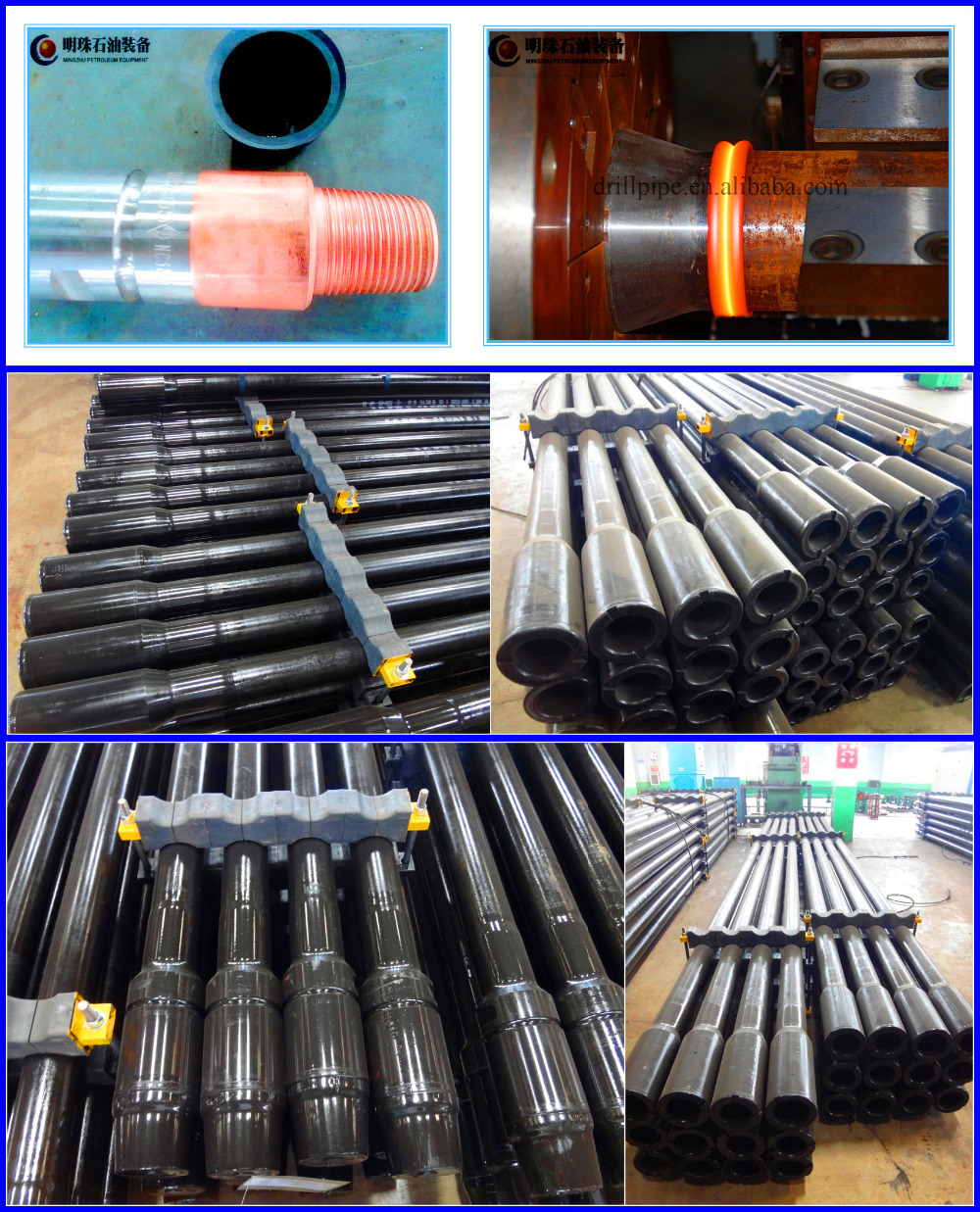 Oil Drill Pipe Made In China - Buy Drill Pipe,Drill Pipe Thread Types ...