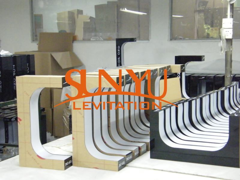 人気磁気浮上装置磁気浮上ディスプレイ小売店靴ディスプレイ
