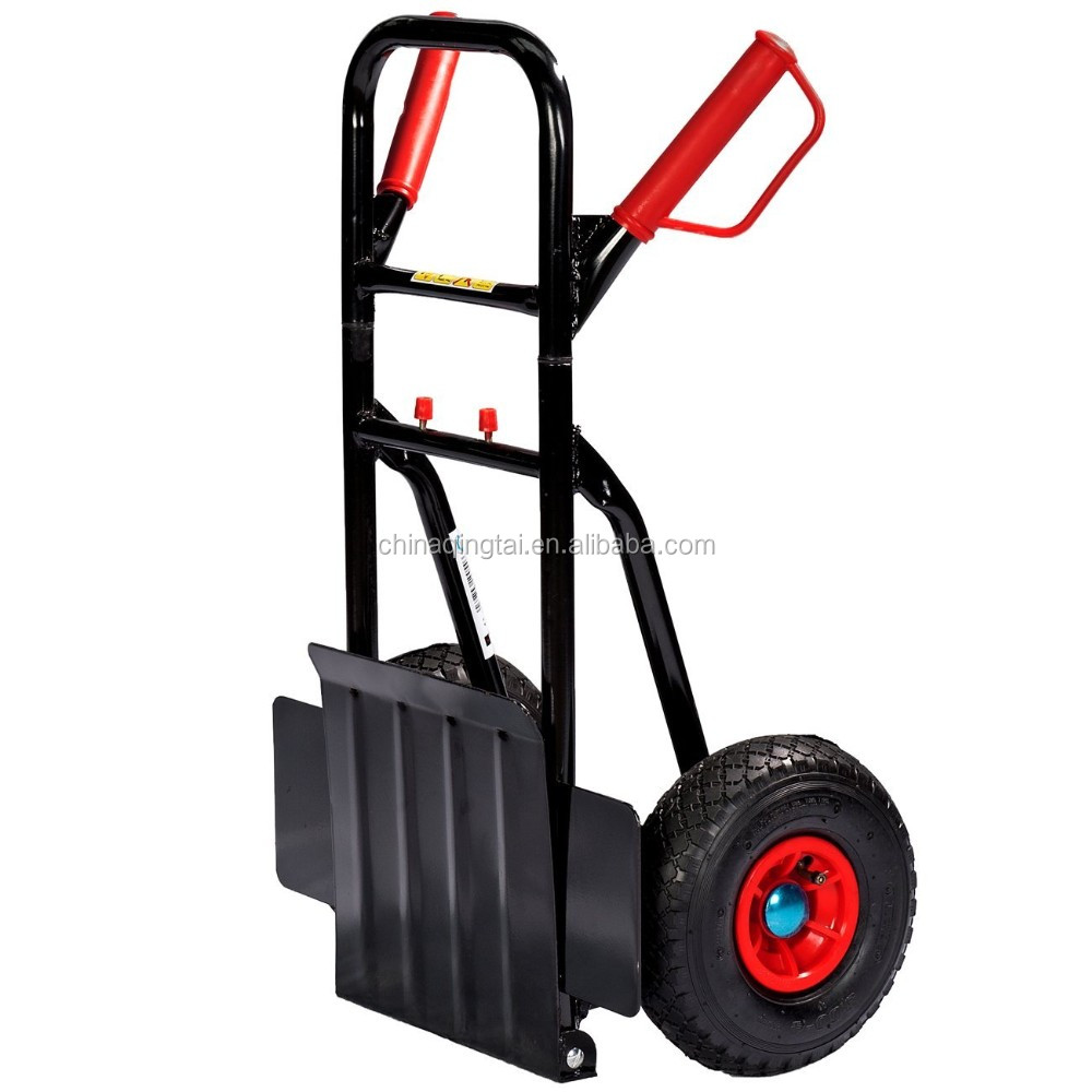 New folding hand trolley with comfortable handle