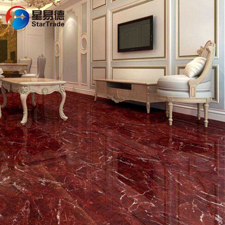 Red Ceramic Glazed Porcelain Floor Tile