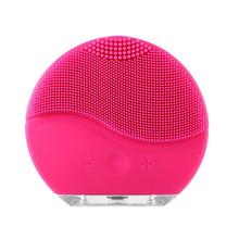 Face Cleaner Vibration Electric Face Brush Silicone Deep Pore Facial Cleansing Brush Electric Waterproof Massage