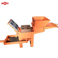 Manual QMR2-40 Block Making Machine Interlock Clay Brick Making Machine