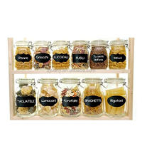 Food Storage Container Fruit jam Reusable Chalkboard Labels + Liquid Chalk Pen to Decorate Your Pantry Storage