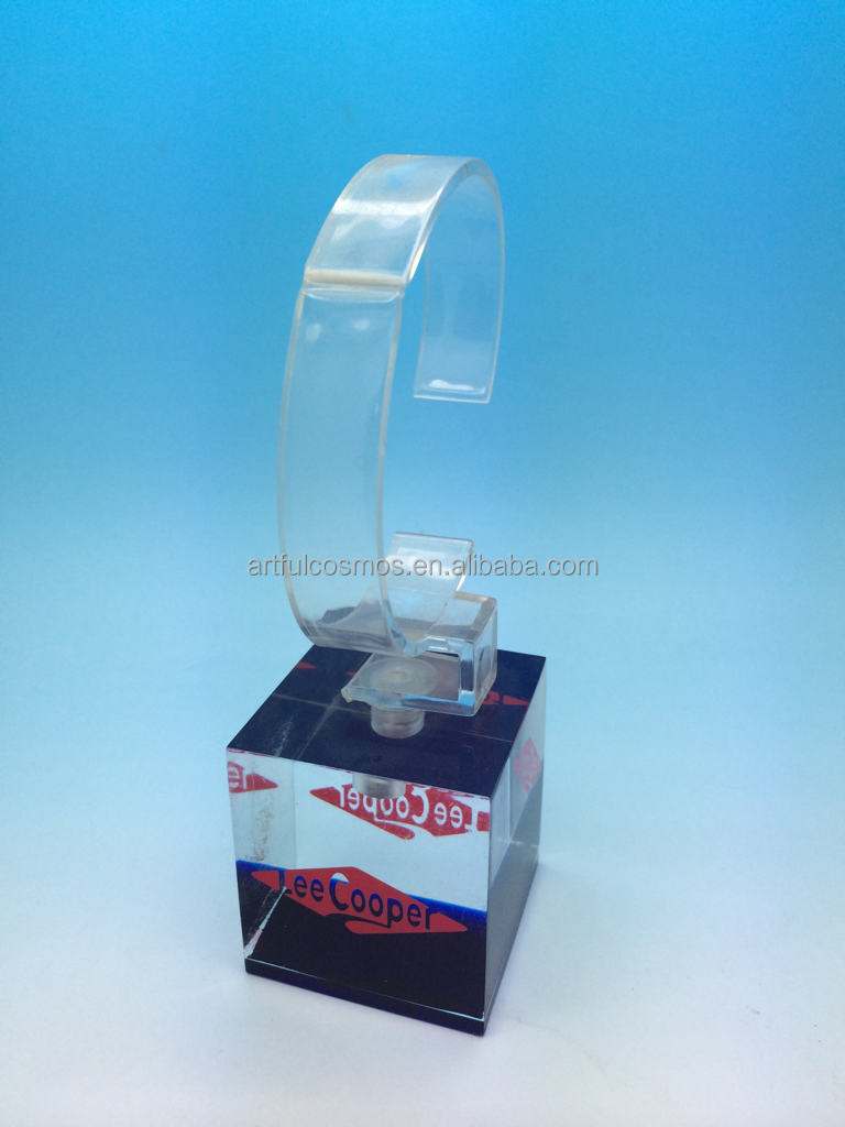 Factory wholesale clear acrylic watch display stand hot sales