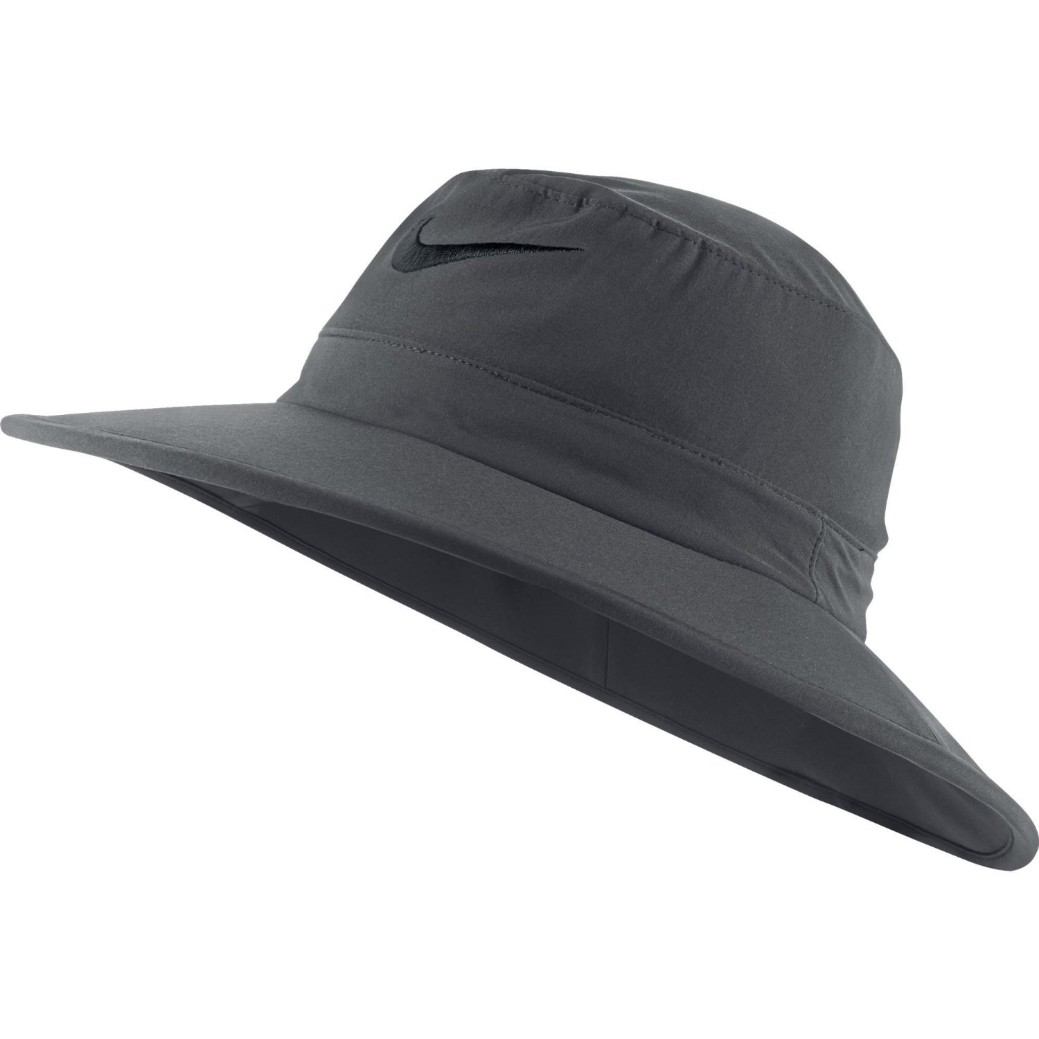 8a8ca90ff4c Get Quotations · NEW Nike Sun Bucket Hat Dark Gray Black Fitted M L Fitted  Hat