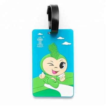 Contact us get $1000,New product ideas factory wholesale custom rubber soft pvc luggage tag
