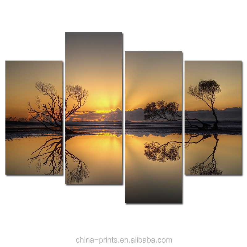 Natural Scenery Canvas Printing <strong>Art</strong>/Customized Digital Photography Printing/Dropship Cheap Canvas Painting