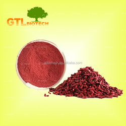 Manufacturer Supply Red Yeast Rice Extract Powder Monacolin K for Supplement