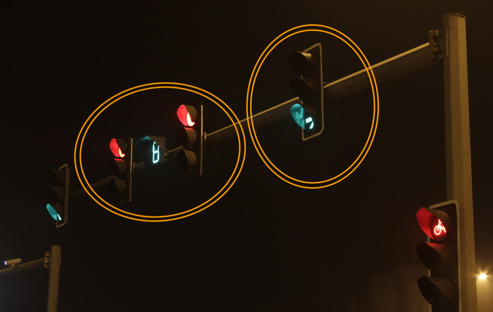 Led Arrow Traffic Light