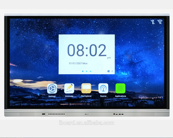 Iboard Te-tl Series 55 Inch Thin 4k Resolution Multi- Touch  Screen,Ops,Monitor - Buy Multi Touch Screen,Panel,Multi Touch Monitor  Product on
