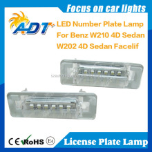 Waterpoof W210 license plate LED light for BENZ
