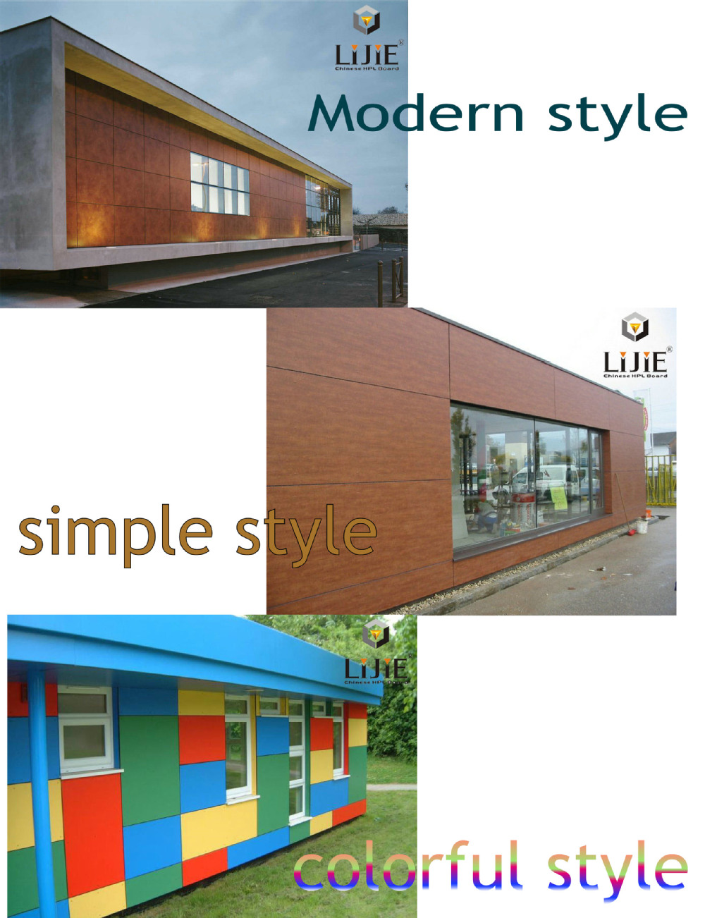 Exterior Wall Cladding With Wpc Wall Panel Plastic Composite Wall Siding Panels