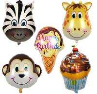 Birthday Party Decoration Ice cream Blloon Balloons