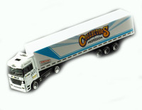 High quality OEM diecast 1:87 truck model 4 color alloy die cast toy cars