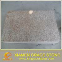G682 Rusty Yellow Granite, Rust Stone G682 flamed tiles