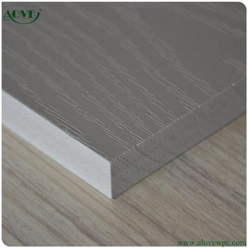 New Product Wpc Wood Plastic Composite Foaming Plate Board