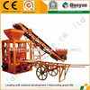medium scale industries brick wall building machine red