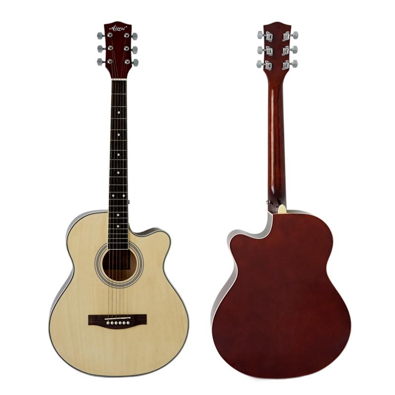 Venta al por mayor guitarra acustica blanca-Compre online los ...