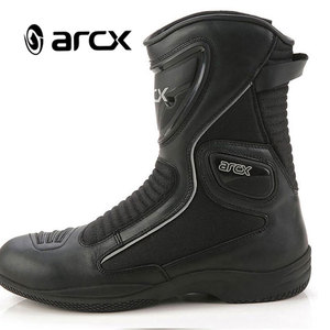 ARCX Men Motorbike Waterproof Riding Shoes Warm Breathable Windproof Boots