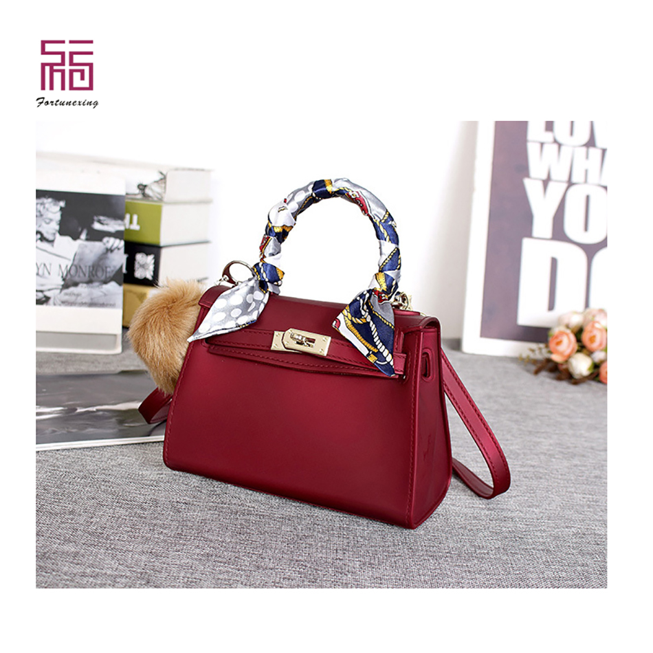 Colorful PVC jelly wholesals women jelly hand bag for shopping