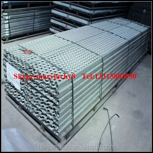 Self Adhesive Anti Slip Stair Treads/perforated Stainless Steel Stair Treads