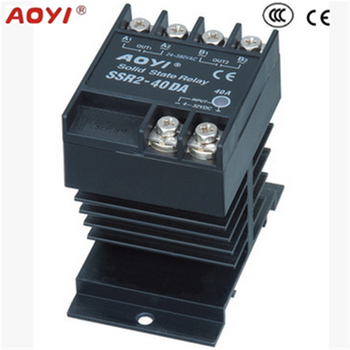 Solid State Relay Ssr40da 40a 332vdc24380vac Heat Sink Buy