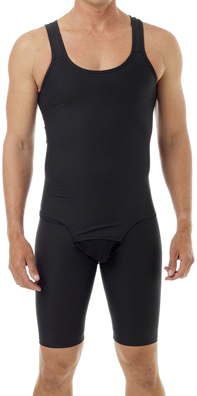 70614ae3390c7 Underworks Mens Compression Bodysuit Girdle Shirt