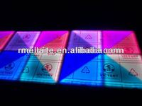 640/5 LED Dance floor,RGB color mixed system and DMX512 control system