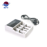 World Best Quality battery charger 18650 4 slot charger