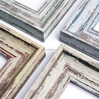 INTCO New Luxury Rustic Wood Color Picture Frame Moulding