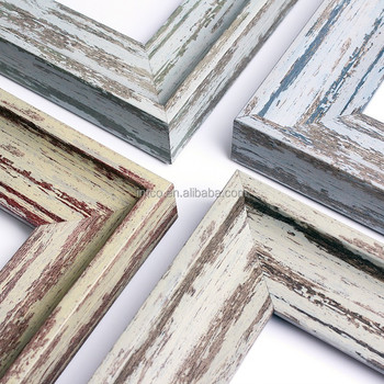 Intco New Luxury Rustic Wood Color Picture Frame Moulding - Buy ...