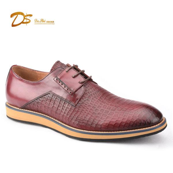 men shoes leather casual fashion business factory wholesale genuine 2018 xXR8TFF