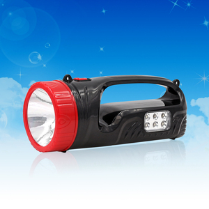 Powerful LED Emergency Rechargeable LED reflector flashlight led long range torch