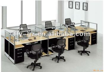Modular workstation desk 6 person buy modular for Couch 6 personen