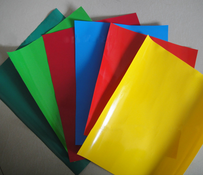 Factory supply tarpaulin PVC coated plastic for sale