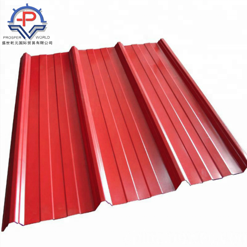 color coated prepainted galvanized corrugated roofing steel sheet plate