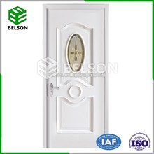 PVC Doors Waterproof Wood Plastic Composite Door Indian Price