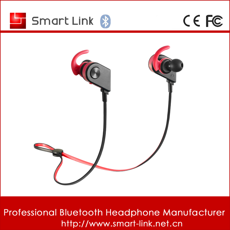 Factory directly support stereo wireless bluetooth earphones 4.1 with Hi-Fi sound for sports