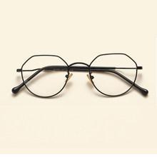 NOSSA отлично личность металлические оправы для очков винтажный с прозрачными стеклами очки для мужчин женщин рецептурные оптические оправы ...(Китай)