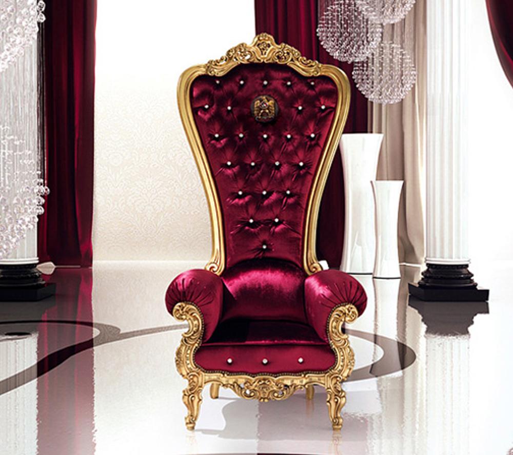 Assez Nouveau design roi trône chaise en Shunde-Chaises en bois-ID de  US37