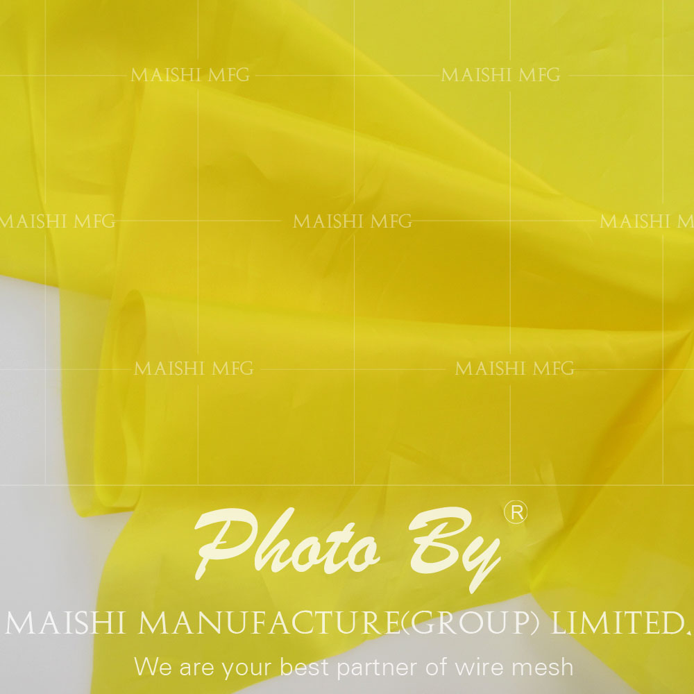 100% Polyester Material and Silk Screen Printing white silk screen mesh