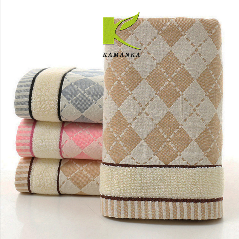 high quality wholesale soft Custom towels custom printed face towel white