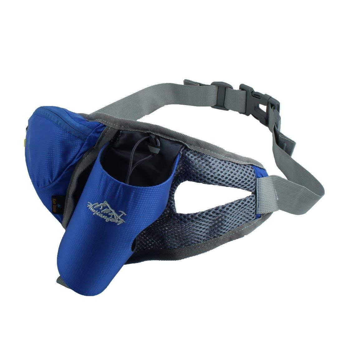 Shoresu Unisex Sports Running Cycling Jogging Waterproof Waist Belt Pack Bag Pouch Black