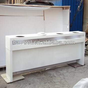 Beauty salon acrylic solid surface nail polishing and for Solid salon