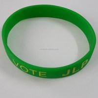 2016 new logo OEM custom silicon slap wristband/ silicone slap band bracelet