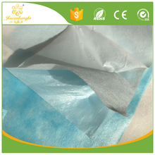 Medical water absorbent/absorber pe laminated pp spunbond non-woven fabric supplier/ abrasion resistant surigical nonwoven cloth